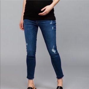 DL1961 Under Belly Jess Skinny Ankle Maternity